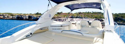 Cranchi luxury yacht rental ibiza