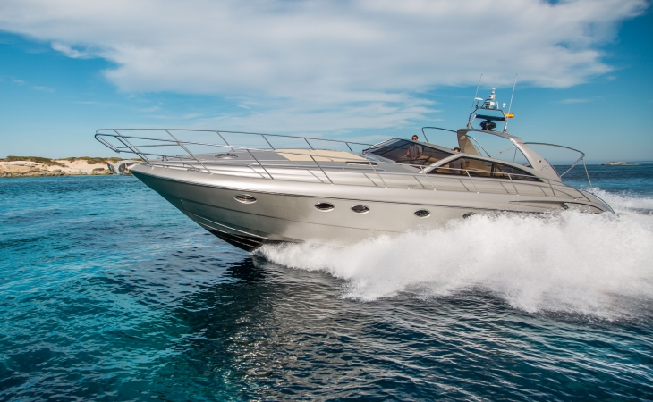 PRINCESS V55 luxury yacht rent ibiza