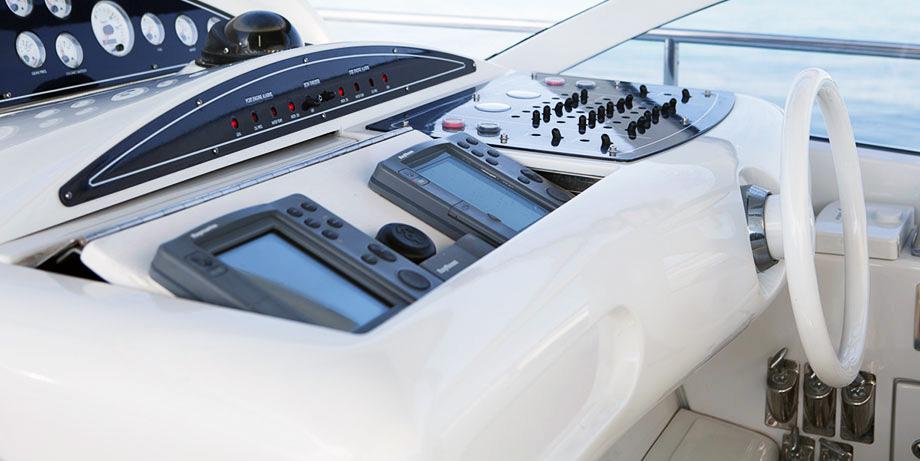 Pershing 45 luxury yacht boat Ibiza