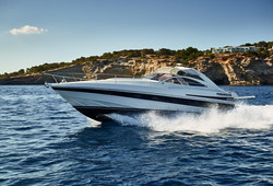 Pershing 45 luxury yacht boat Ibiza
