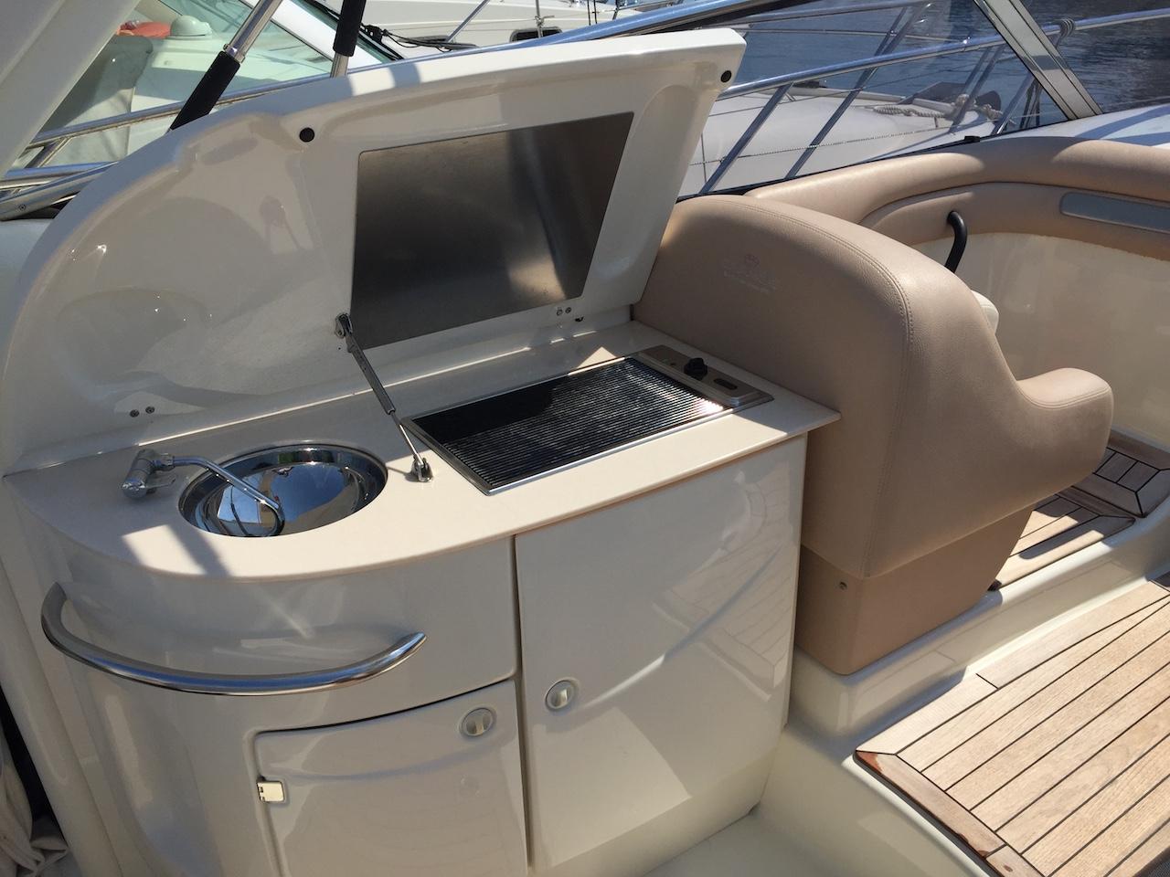 Cranchi luxury yacht rental ibiza