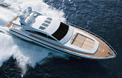 Mangusta 80 Luxury Yacht Rent Ibiza