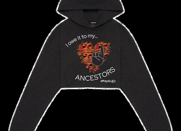 Ancestors :: Crop Hoodie