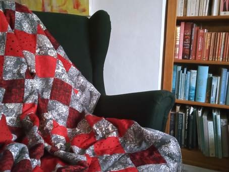 Binding a quilt made easy