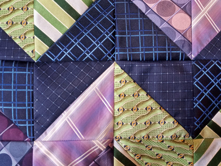 How to process silk ties into usable fabric for projects