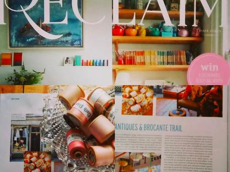 We were featured in Reclaim Magazine!
