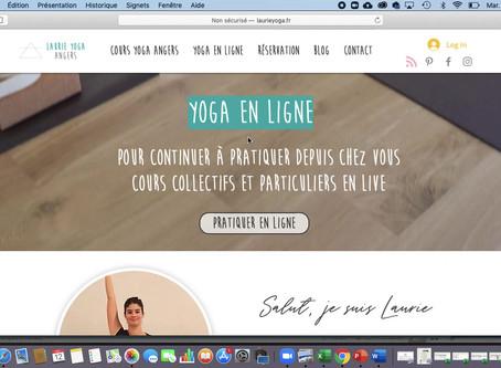 Réserver un cours de yoga à Angers