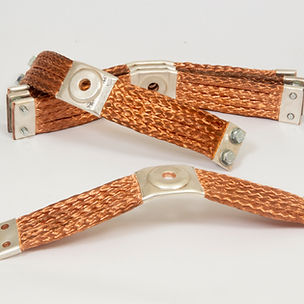 braided busbar, copper connector