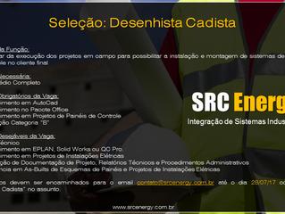SRC Energy Abre Processo de Recrutamento e Seleção 2017.2