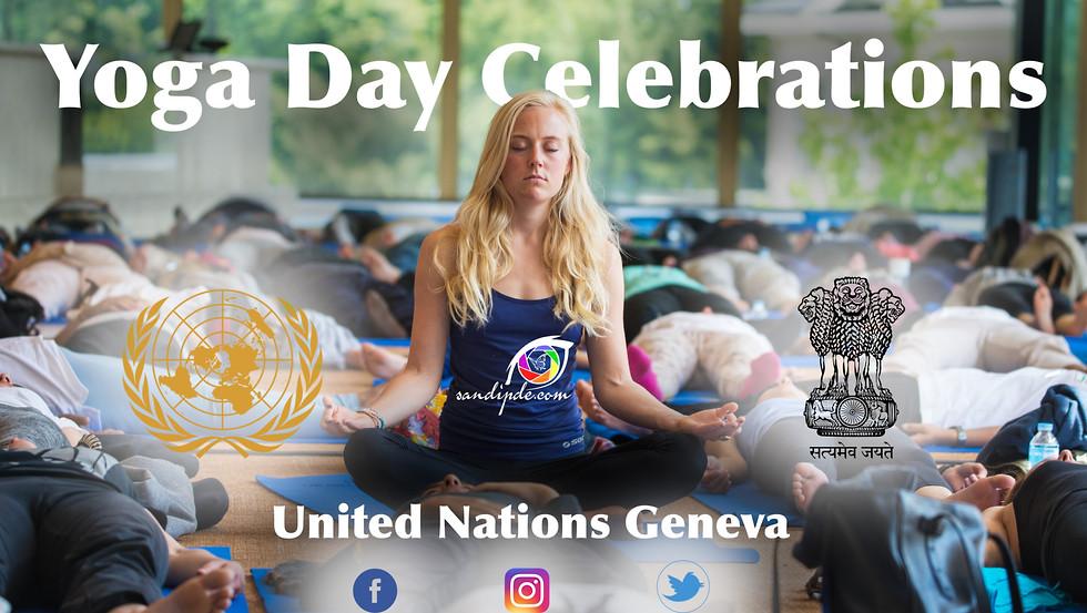 International Yoga day Celebration