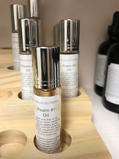 Psalm 81 Oil