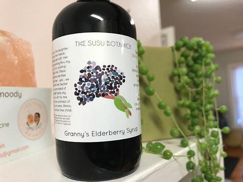 Granny's Elderberry Syrup 4oz