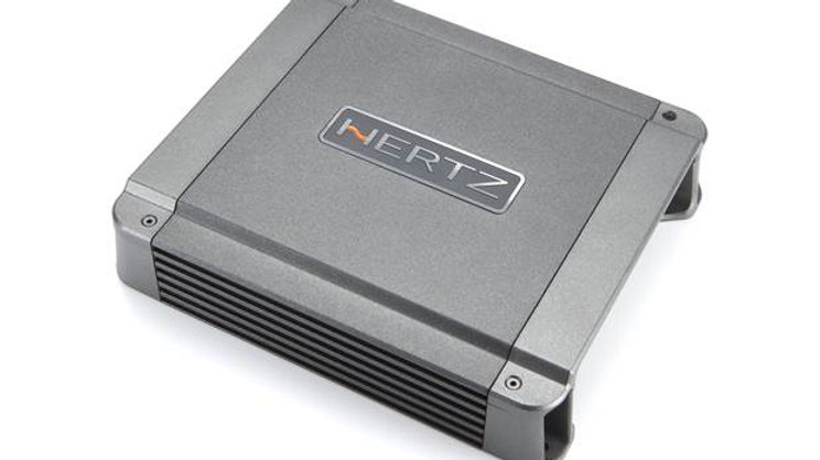 Hertz HCP 1D Mono 1-channel amplifier — 550 watts RMS x 1 at 2 ohms