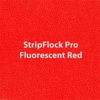 Siser EasyWeed - StripFlock Pro - Fluorescent Red