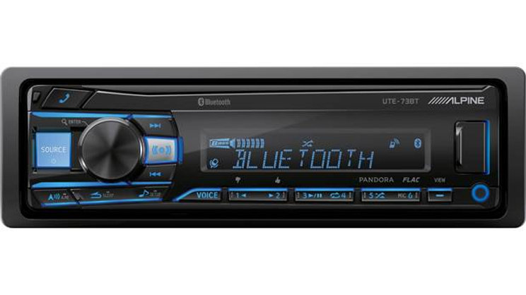 Alpine UTE-73BT Digital media receiver (does not play CDs)