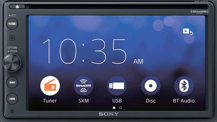 Sony XAV-AX210SXM DVD receiver with free SiriusXM satellite radio tuner