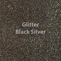 Siser EasyWeed - Glitter Black Silver