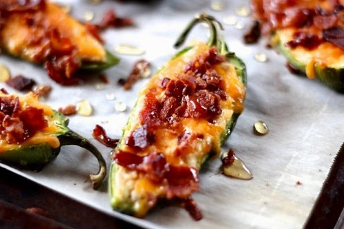 Bacon Cheddar Jalapeno Halves