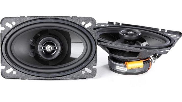 "Memphis Audio PRX46 4""x6"" 2-way car speakers"