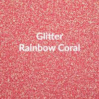 Siser EasyWeed - Glitter Rainbow Coral