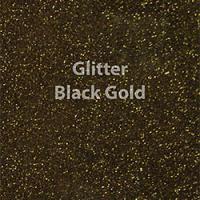 Siser EasyWeed - Glitter Black Gold