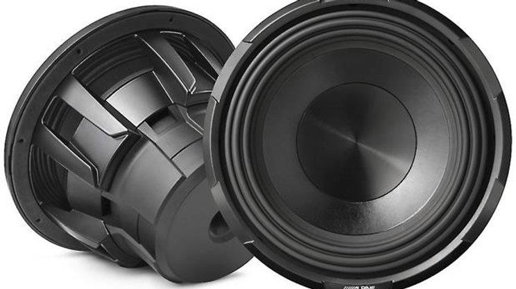 """Alpine X-W10D4 X-Series 10"""" subwoofer with dual 4-ohm voice coils"""