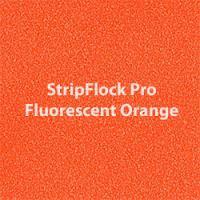 Siser EasyWeed - StripFlock Pro - Fluorescent Orange
