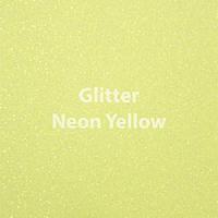 Siser EasyWeed - Glitter Neon Yellow