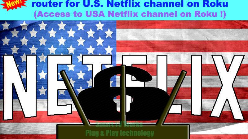 Roku USA Netflix Geo Unlock Plug and Play VPN Tunnel Australia