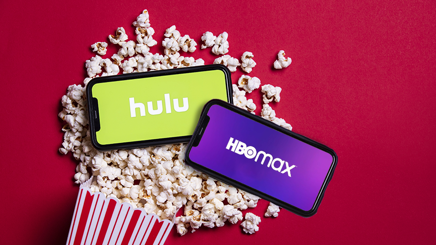 Service to access HBO MAX and HULU on your Roku streaming player !