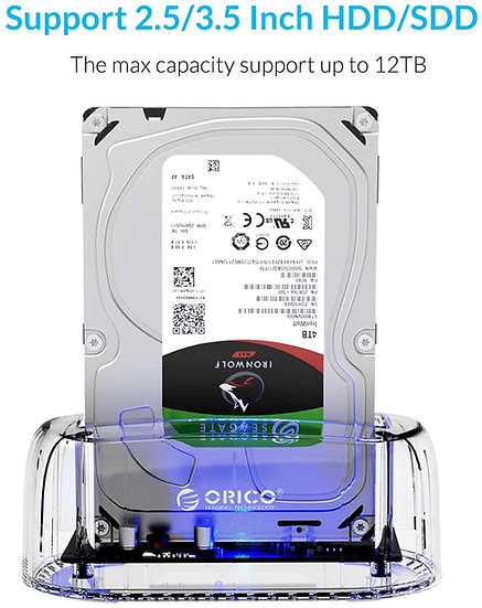 ORICO Hard Drive Docker USB3.1 Type C for HDD