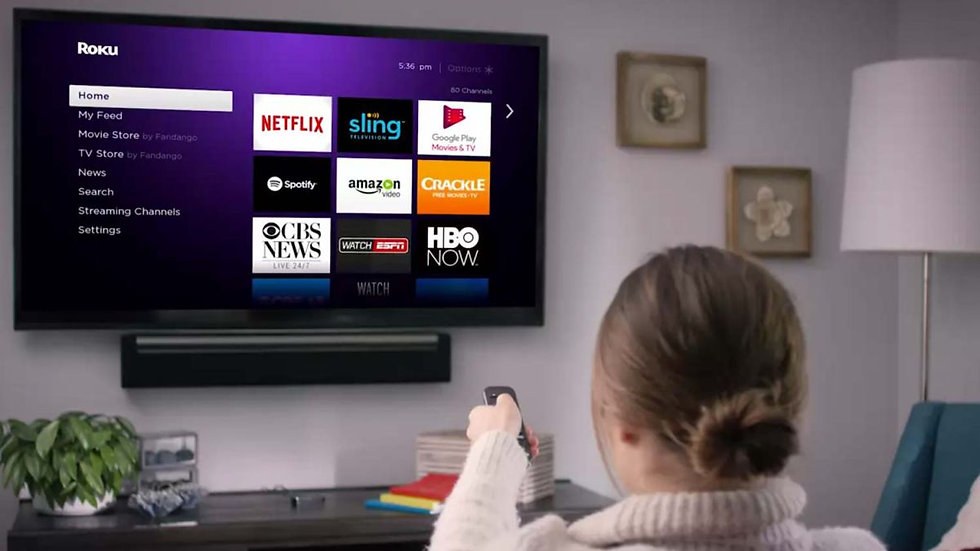 Service assistance to access a channel on your Roku streaming player