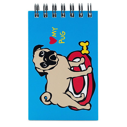 Marc Tetro Pug Notebook