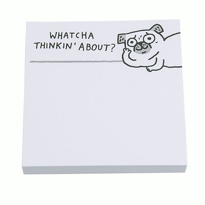 Pug Post It Notes