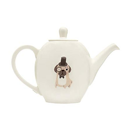 Fenella Smith Pug Teapot