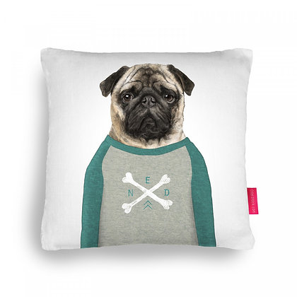 Ned Pug Cushion