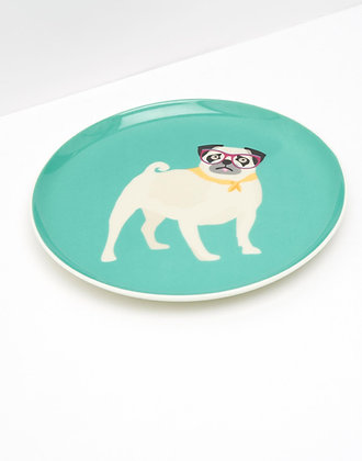 Joules Pug Side Plate