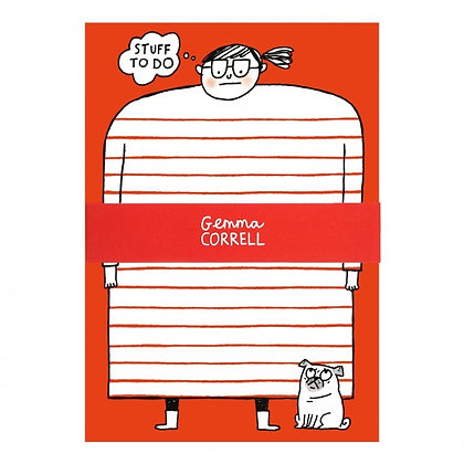 Gemma Correll - Stuff to Do - A5 Notepad