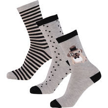 Fenella Smith Pug Socks - Pack of 3