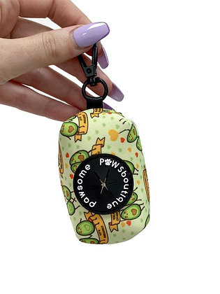 Happy Avo After Poo Bag Holder by Pawsome Paws Boutique