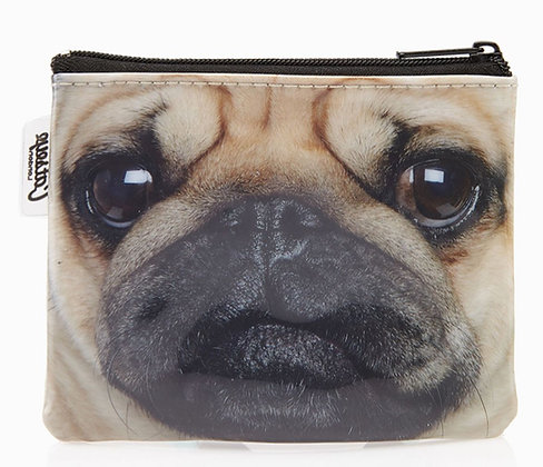 Catseye Pug Coin Pouch - Small Purse