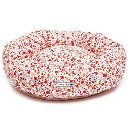 Posie Cotton Donut Dog Bed