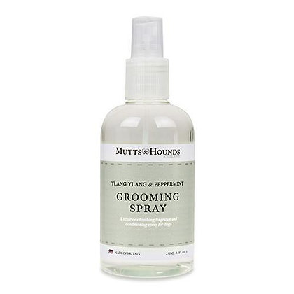 Ylang Ylang & Peppermint Dog Grooming Spray Mutts & Hounds