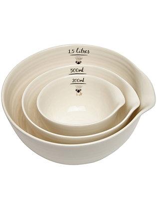 Fenella Smith 3 x Nested Bowls