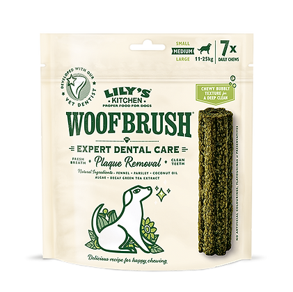 Woof Brush - Dental Care Stick from Lily's Kitchen Multipack