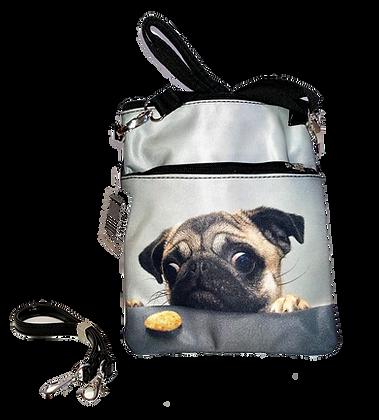 Pug Cross body Shoulder Bag