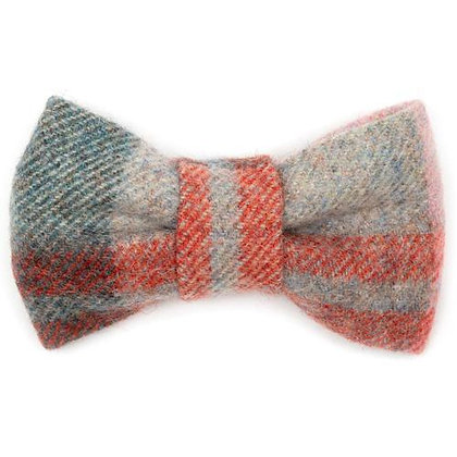 Macaroon Tweed Dog Bow Tie - Mutts & Hounds