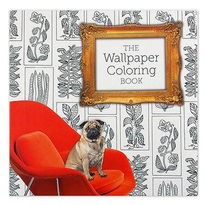 Pug Colouring Book