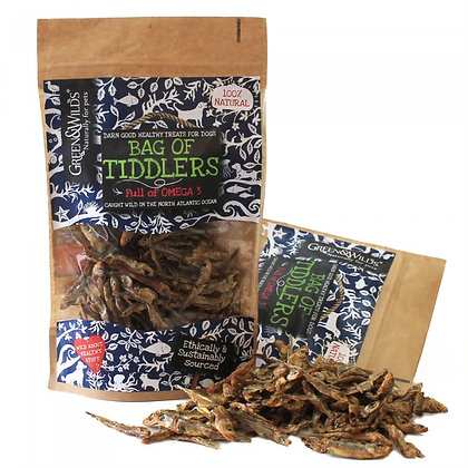 Bag of Tiddlers, fresh from the ocean from Green & Wilds