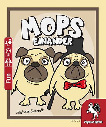 MOPS EINANDER - Fun Pug Card Game